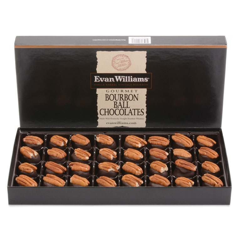 Evan Williams Single Barrel Bourbon Balls 32 piece